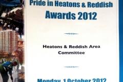 SMBC Pride award 2012leaflet