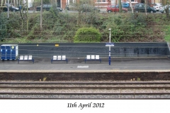 Black wall 11 th April 2012