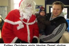 Father Christmas at HCS