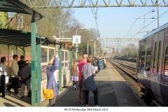 Platform 2 rush hour