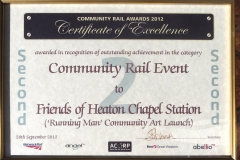 Cert of Comm Rail event 2nd