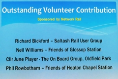 Outstanding volunteer nominations