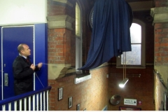 Heaton Chapel station clock unveiling iii