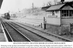 Signal box April 1953