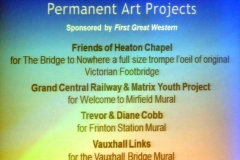 Permanent Art Project nominations